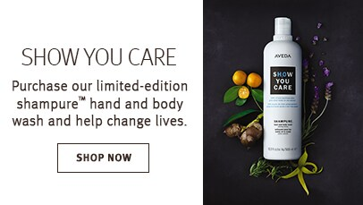 Click shop now button to shop limited edition shampure hand and body wash