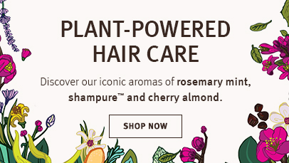 Shop Aveda's iconic aroma hair care products