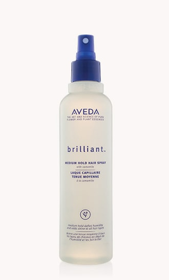"brilliant<span class=""trade"">™</span> medium hold hair spray"
