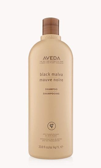 shampooing mauve noire