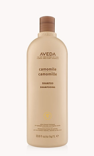Shampooing à la camomille