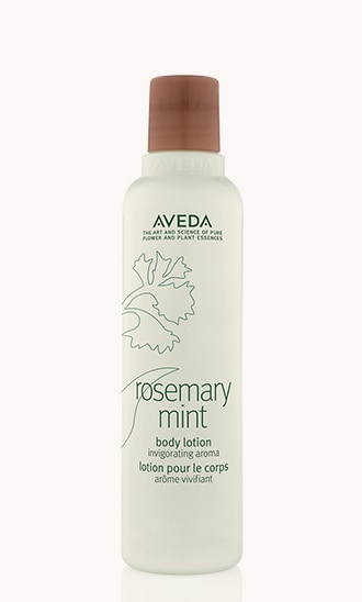 lotion pour le corps rosemary mint