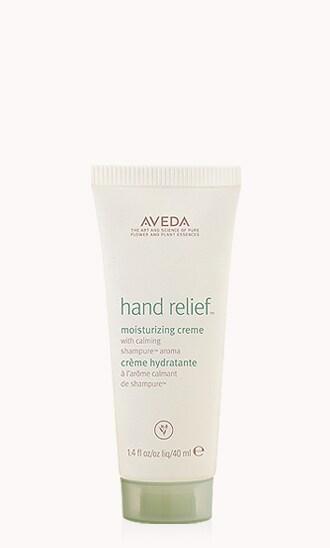 crème hydratante hand relief™ avec arôme calming shampure™