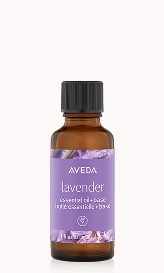 lavender essential oil + base