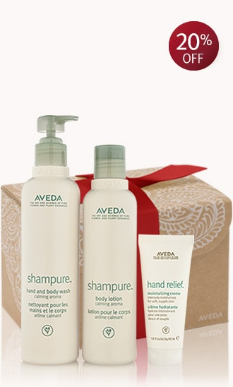 "a gift of shampure<span class=""trade"">™</span>"