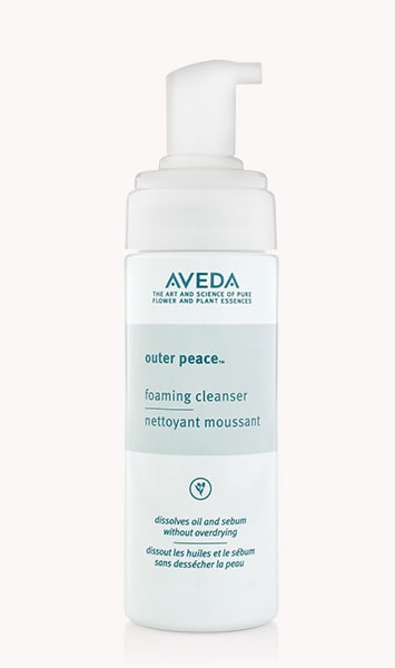"outer peace<span class=""trade"">™</span> foaming cleanser"