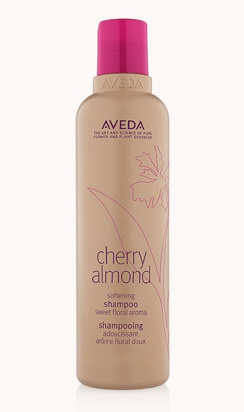 shampooing adoucissant cherry almond